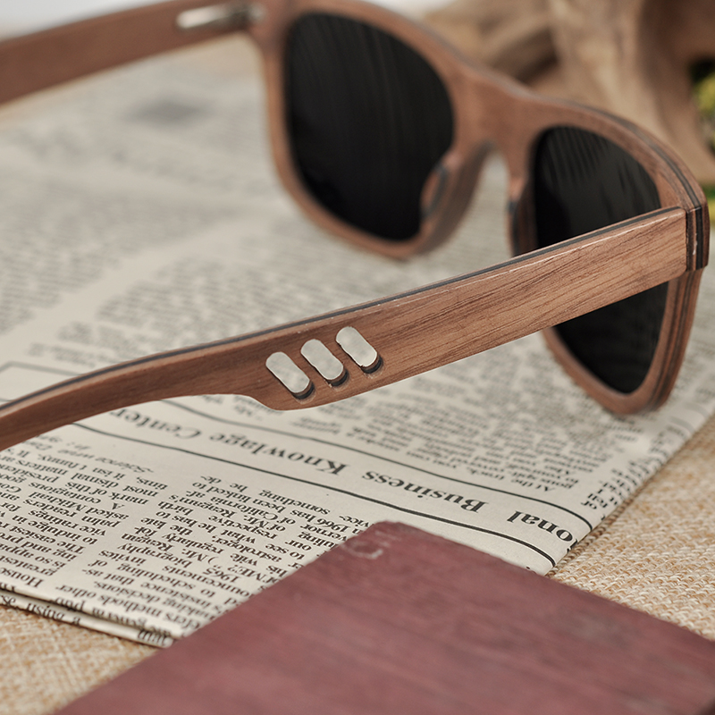 Wooden Bamboo Polaroid Sunglasses BS05