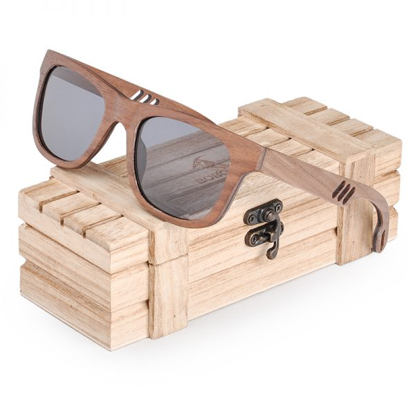 Wooden Bamboo Polaroid Sunglasses BS05