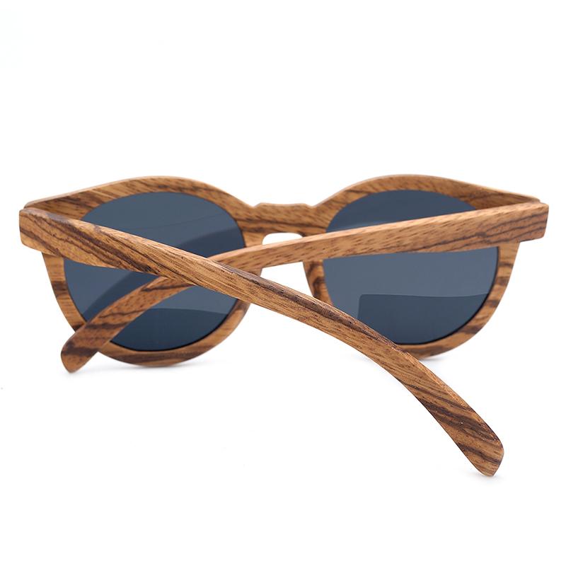 Vintage Zebra Bamboo Sunglasses