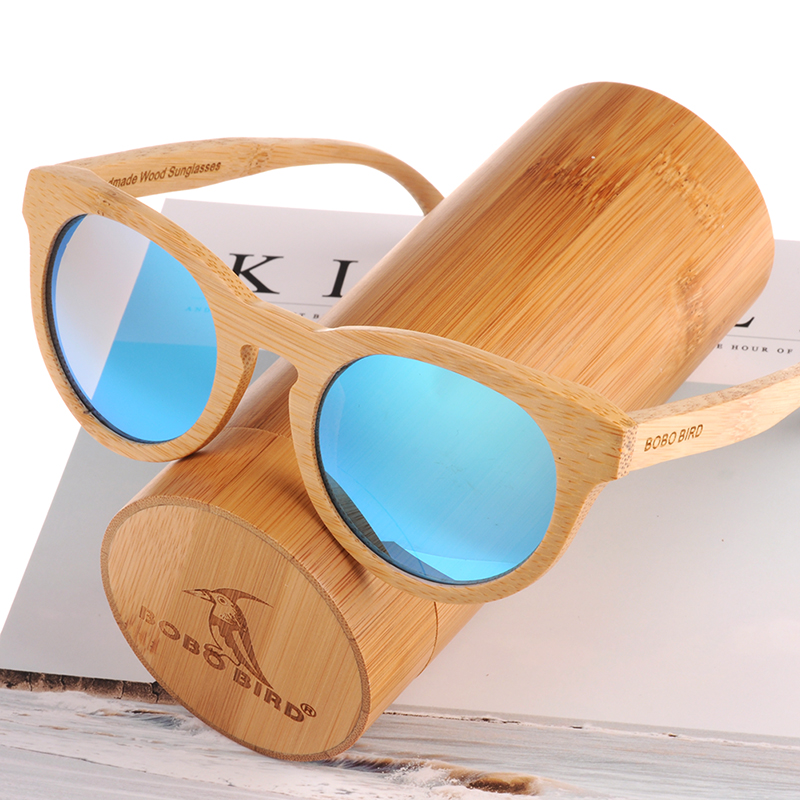 Wooden Bamboo Sunglasses B08