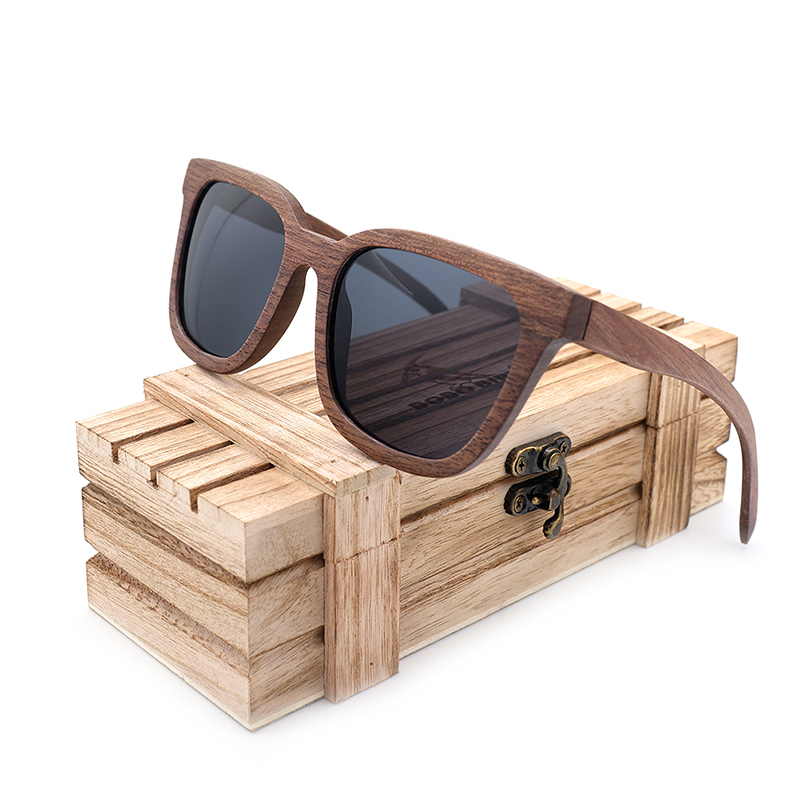 Black Walnut Wooden Sunglasses
