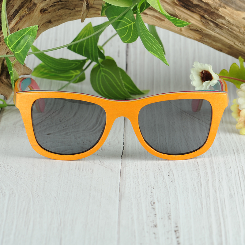 Colorful  Wooden Sunglasses