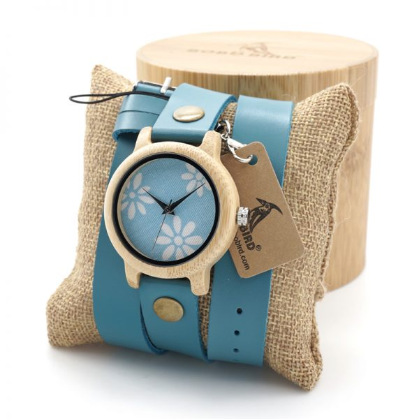 Wooden Watch W06