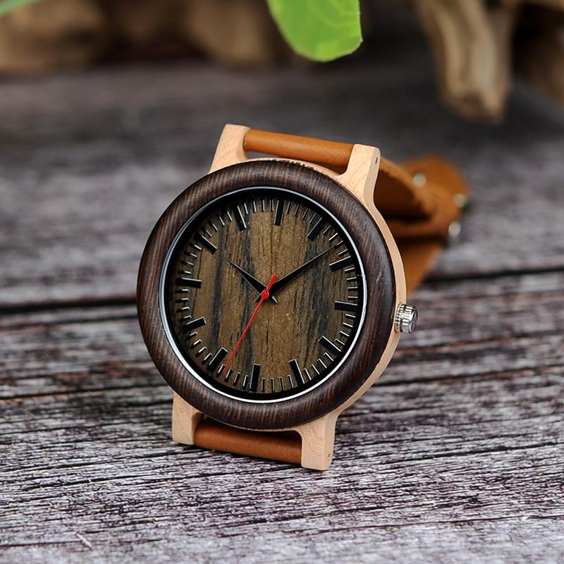 Wooden Watch M01