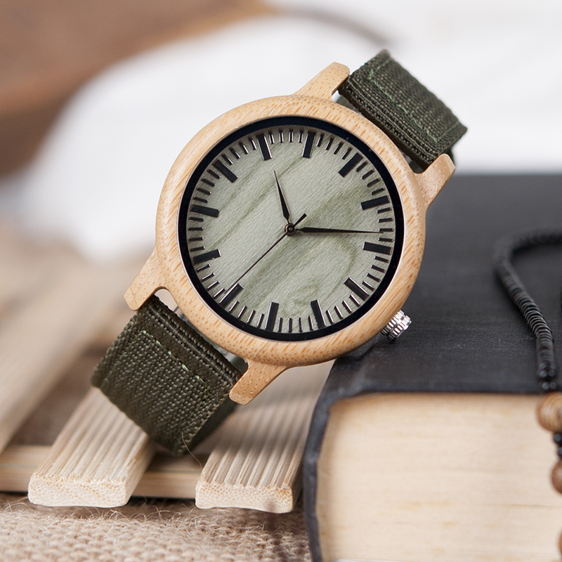 Wooden Watch M02