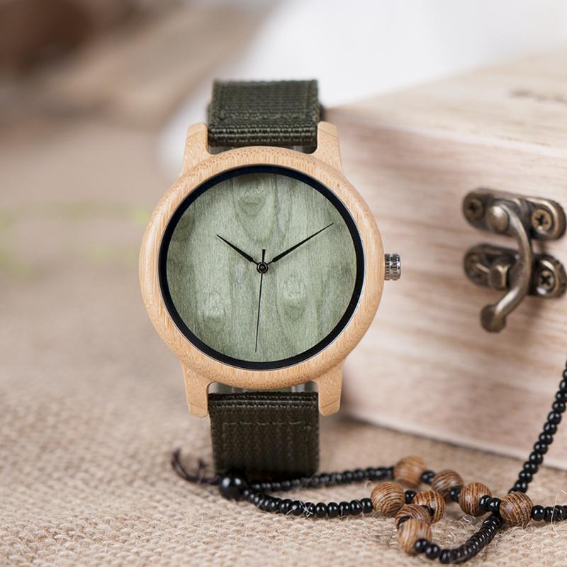 Wooden Watch M02