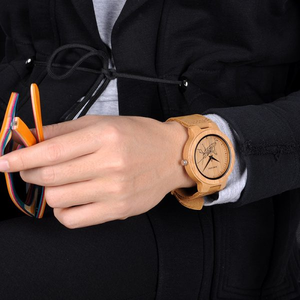 Wooden Watch M06