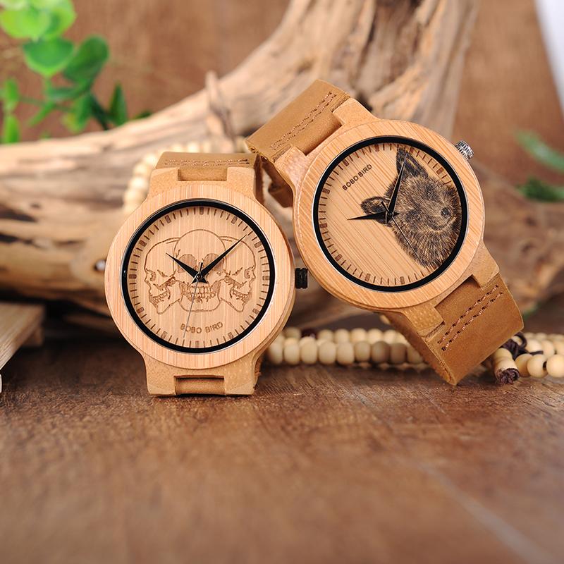 Wooden Watch M06