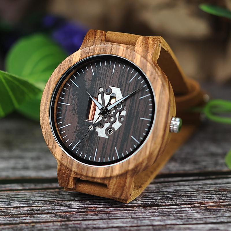 Wooden Watch M10