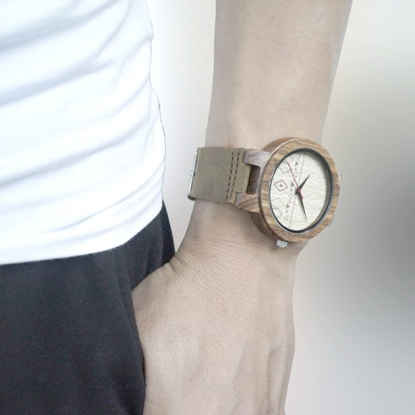 Wooden Watch M17