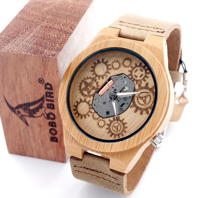 Wooden Watch M18
