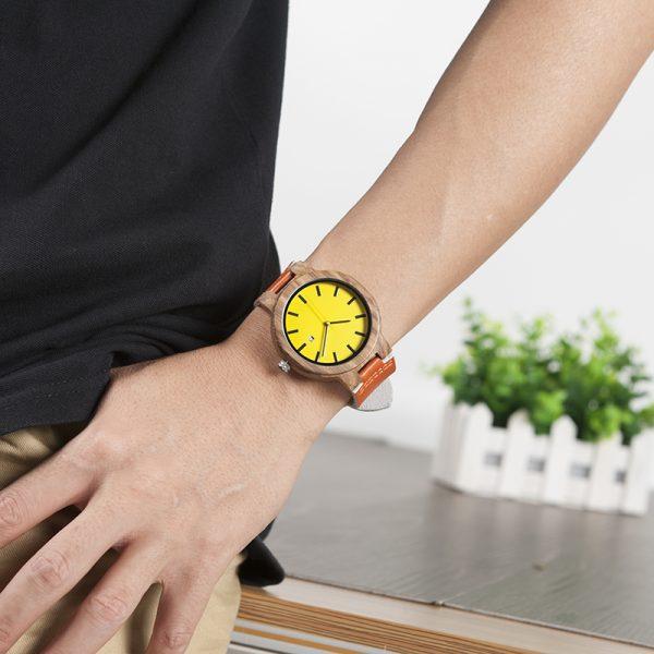 Wooden Watch M19