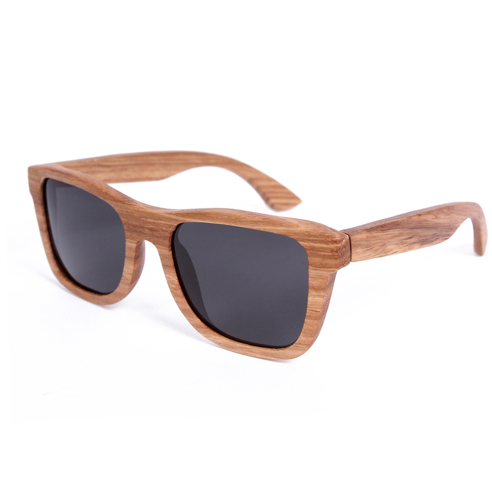 Zebra Wood Sunglasses B22