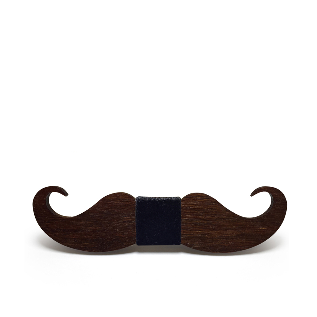 Wooden Bow-Tie T02