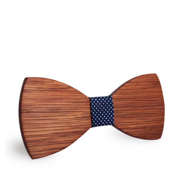 Wooden Bow-Tie T03