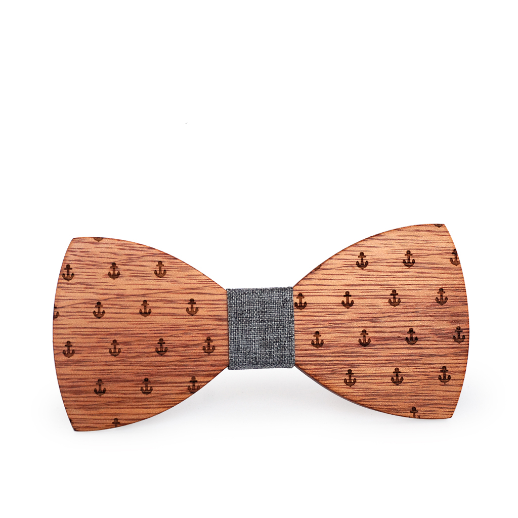 Wooden Bow-Tie T04