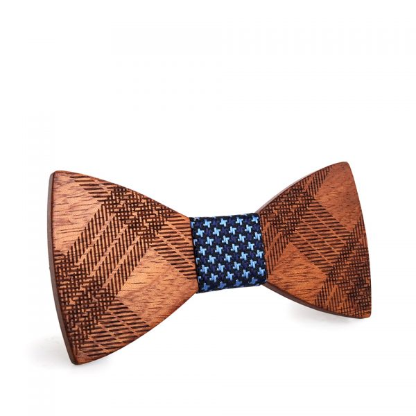 Wooden Bow-Tie T06