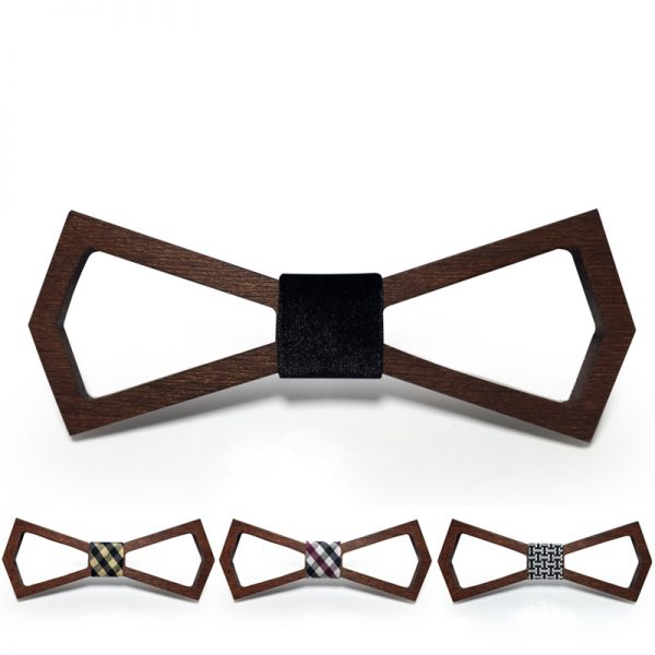 Wooden Bow-Tie T08