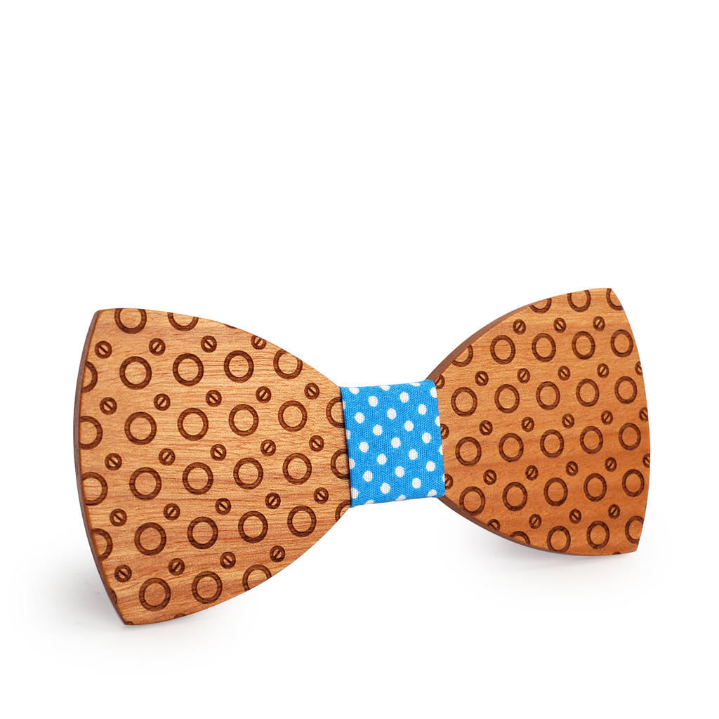 Wooden Bow-Tie T09
