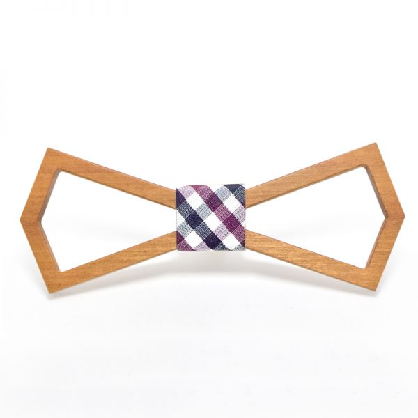 Wooden Bow-Tie T10