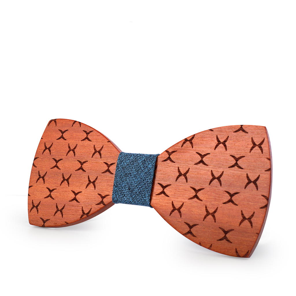 Wooden Bow-Tie T12