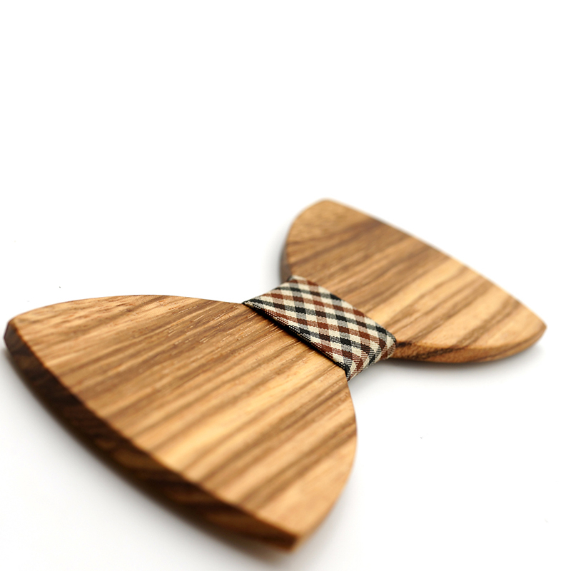 Wooden Bow-Tie T13