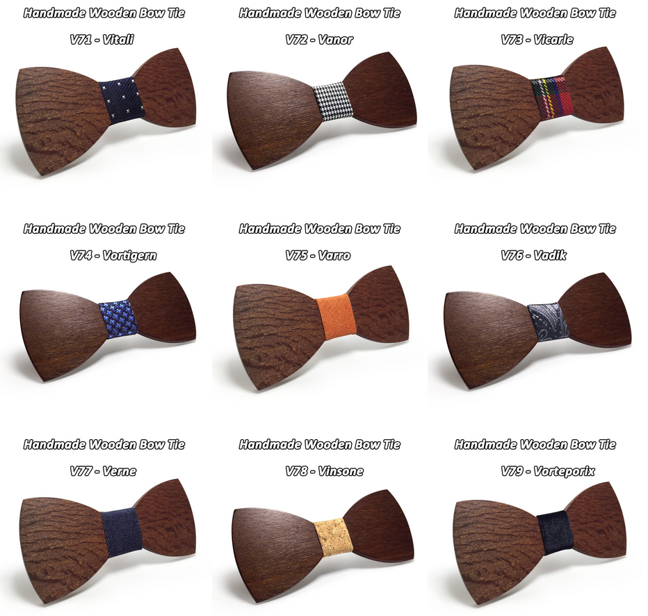 Wooden Bow-Tie T18
