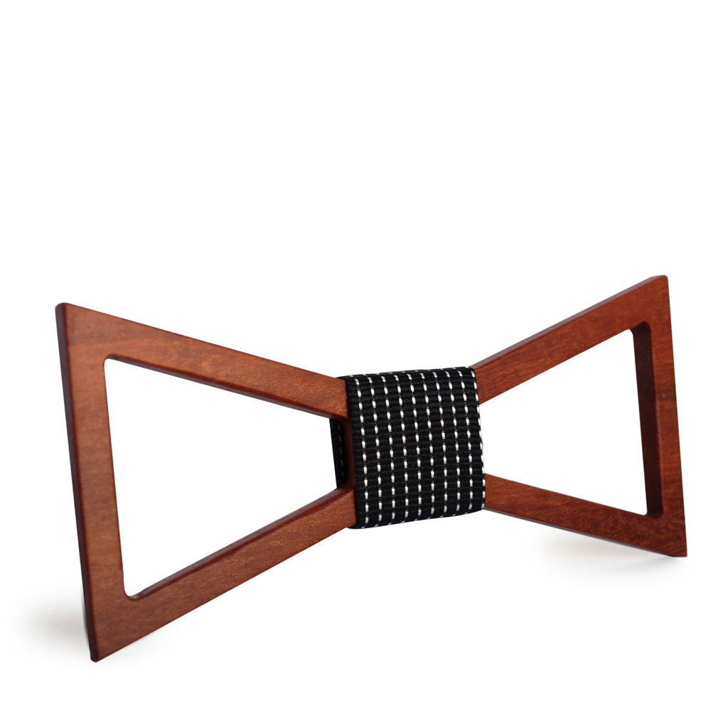 Wooden Bow-Tie T19