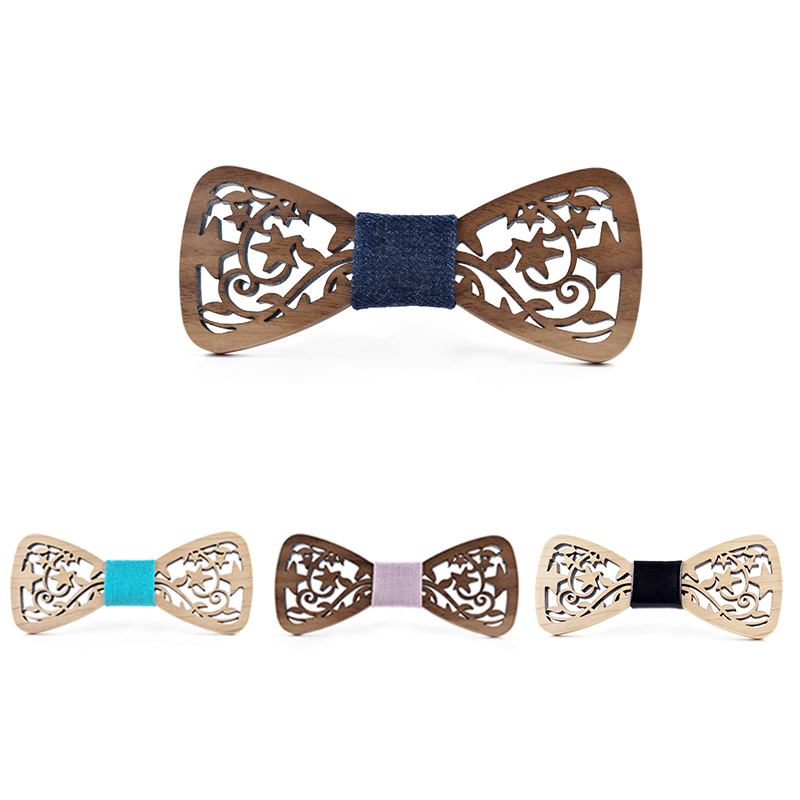 Wooden Bow-Tie T21