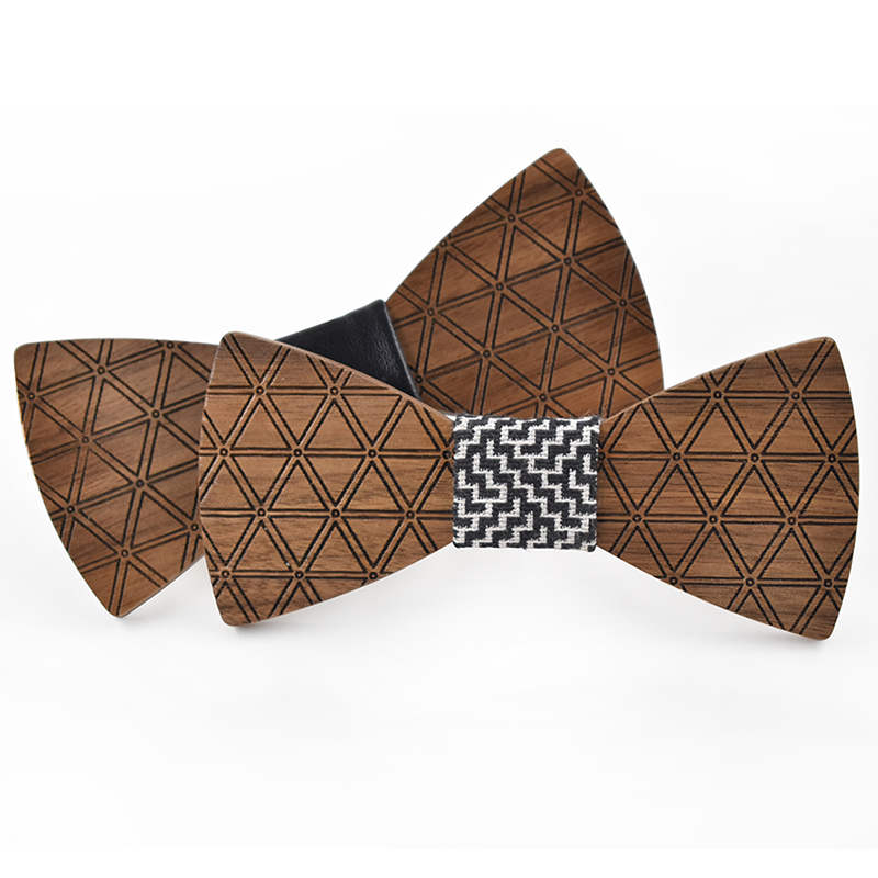 Wooden Bow-Tie T24