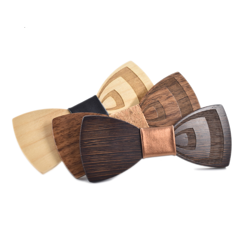 Wooden Bow-Tie T32