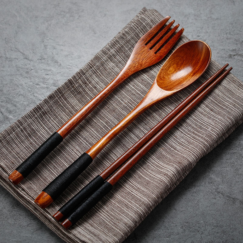 Japanese Style Wooden Set