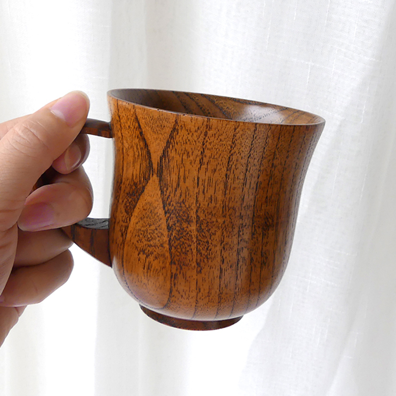 Natural Wooden Coffee Mug 250ml