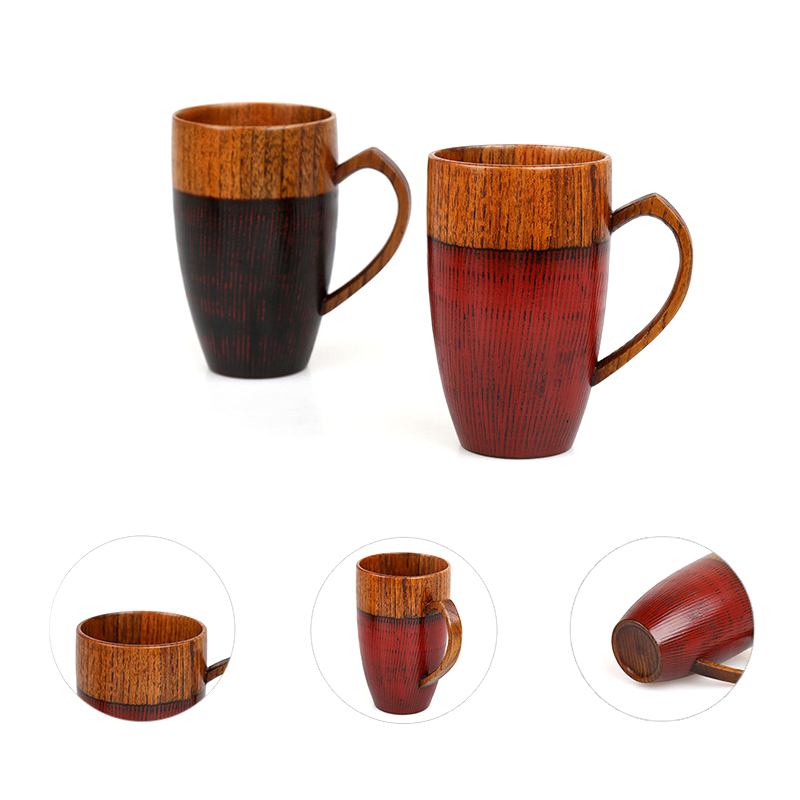 High Quality Wooden Cup 320ml
