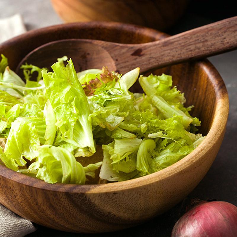 Natural HandMade Wooden Salad Bowl