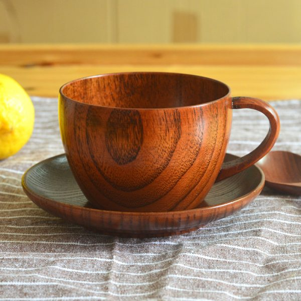 Classic Wooden Tea Cup 200ml