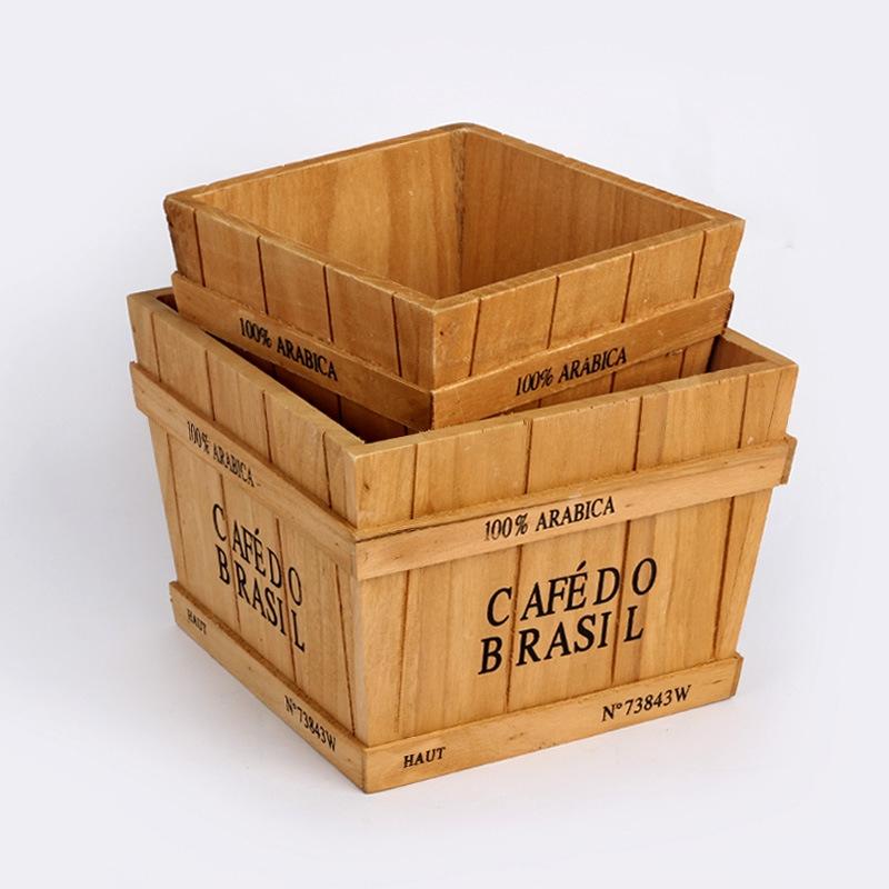 Wooden Box B02