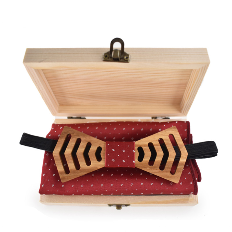 Zebrawood Wooden Bow-Tie