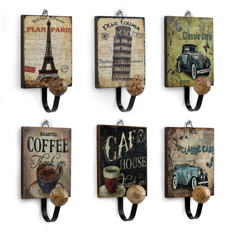 Retro Clothing Storage Hooks
