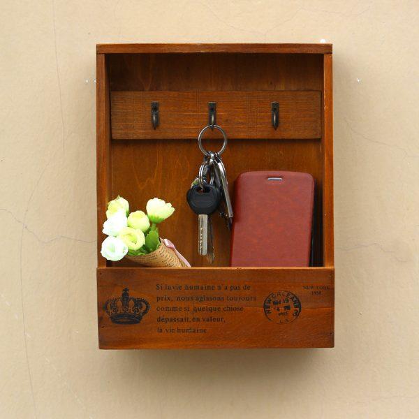 Handmade Wooden Key Hanger