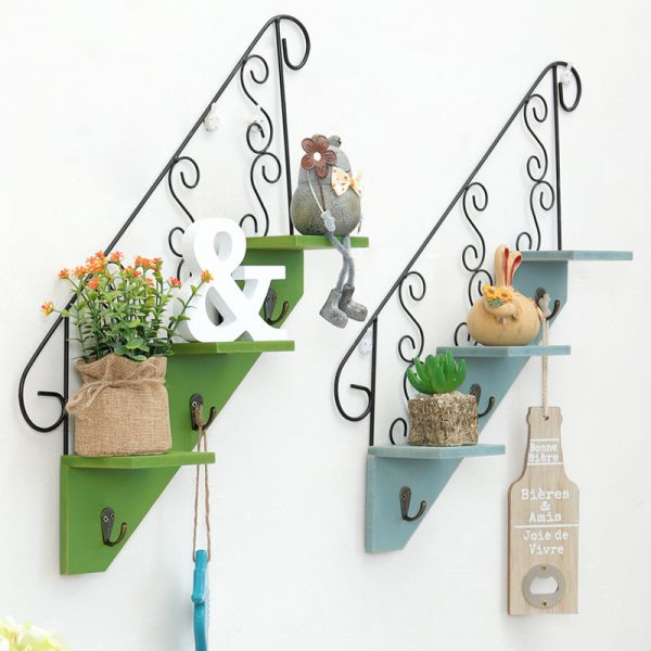 Vintage Wooden Decorative Rack