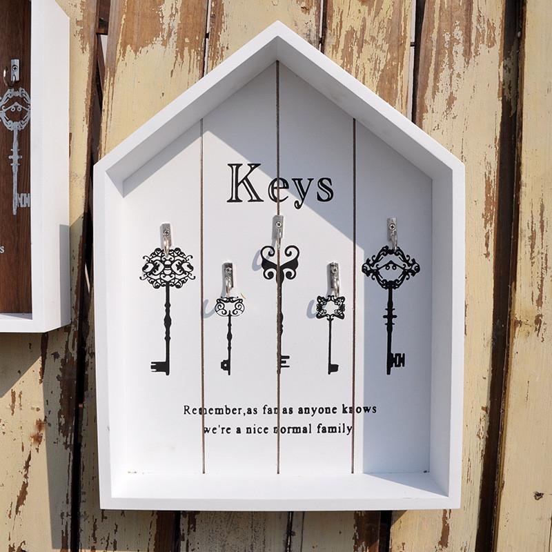 Modern Vintage Wooden Key Hanger