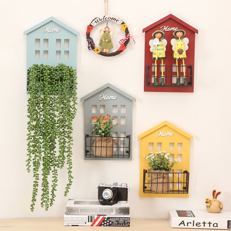 Colorful Wooden Wall Hangers
