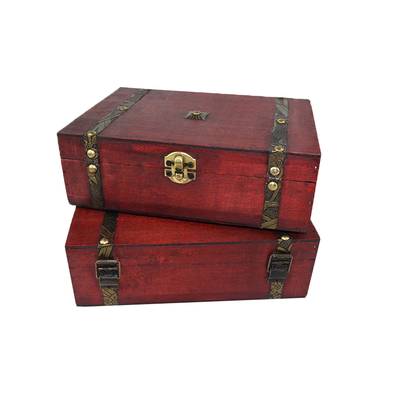 Decorative Wooden Chest