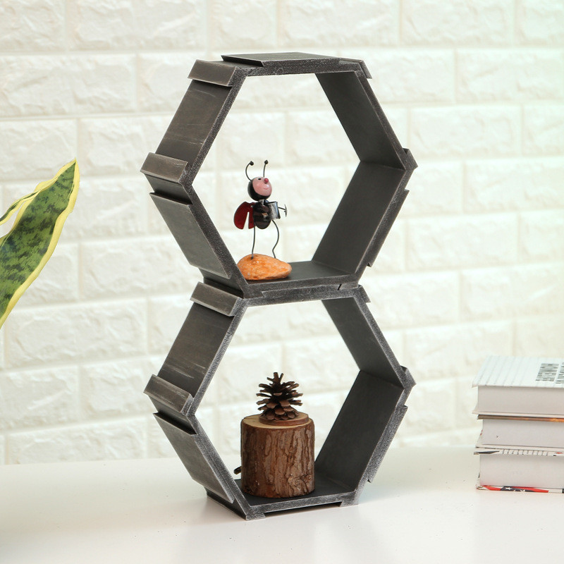 Hanging Decorative Wooden Shelf